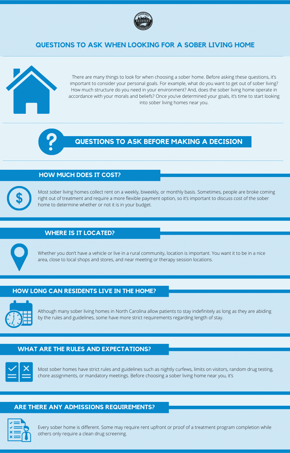 Questions to Ask When Looking For a Sober Living Home